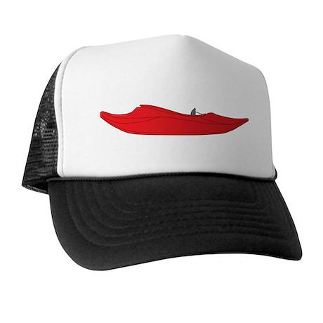 Red Playboat Trucker Hat