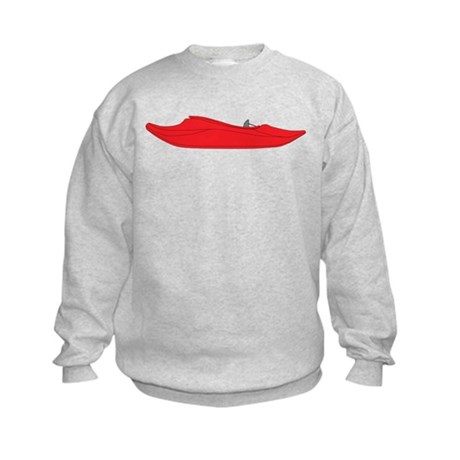 Red Playboat Kids Sweatshirt