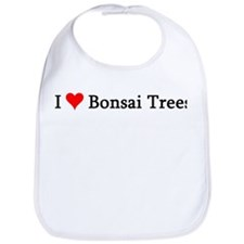 I Love Bonsai Trees Bib