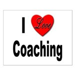 I Love Coaching Small Poster
