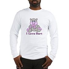 Bert the Hippo Long Sleeve T-Shirt