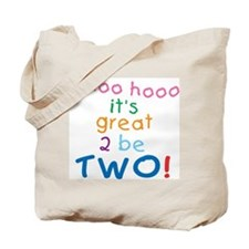 Whoo Hooo 2nd Birthday Tote Bag