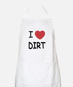 I heart dirt Apron