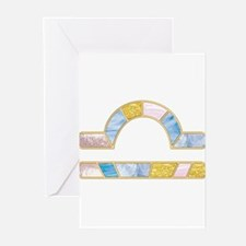 Libra Zodiac Gifts Greeting Cards (Pk of 10)