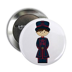 "Royal Beefeater Guard 2.25"" Button (10 Pk)"