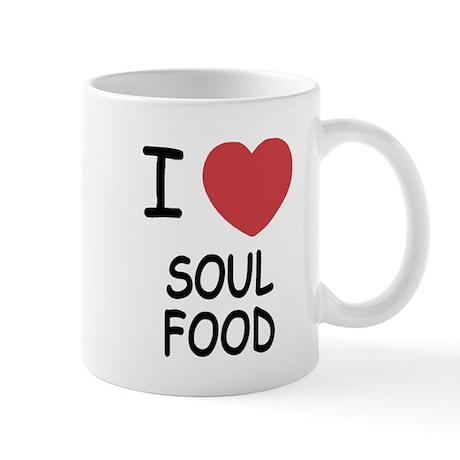 I heart soul food Mug