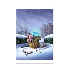 Aunt Dimity:Snowbound Posters