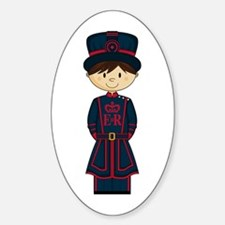 Royal Beefeater Guard Decal