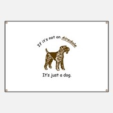 Airedale Terrier Banner