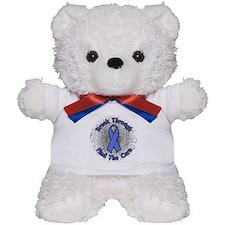 Shatter Awareness Ribbons Teddy Bear