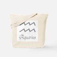 Aquarius Zodiac Gifts Tote Bag