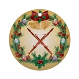 Bassoon Round Ornaments