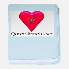 QAL Heart Infant Blanket