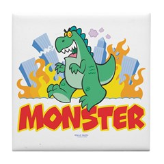 Monster Tile Coaster