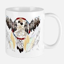 Dream Catcher and Feathers(wide) Mug