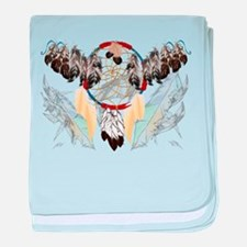Dream Catcher and Feathers(wide) Infant Blanket
