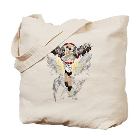 Dream Catcher and Feathers(small) Tote Bag