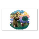 St. Fran (ff) - Maine Coon (#9) Sticker (Rectangle