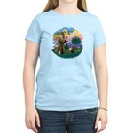 St. Fran (ff) - Maine Coon (#9) Women's Light T-Sh