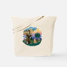 St. Fran. (ff) - Orange Tabby Tote Bag