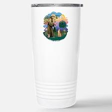 St. Fran. (ff) - Orange Tabby Travel Mug
