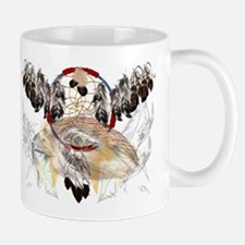 Dream Catcher and Feathers an Mug