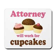 Funny Attorney Mousepad