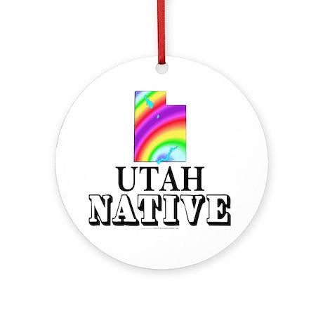 Utah native Ornament (Round)