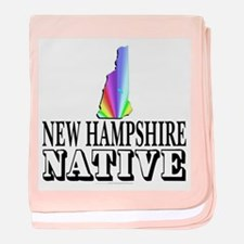 New Hampshire native Infant Blanket