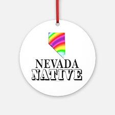 Nevada native Ornament (Round)
