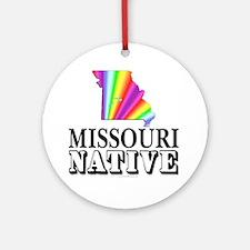 Missouri native Ornament (Round)