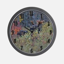 Checking the wind Wall Clock