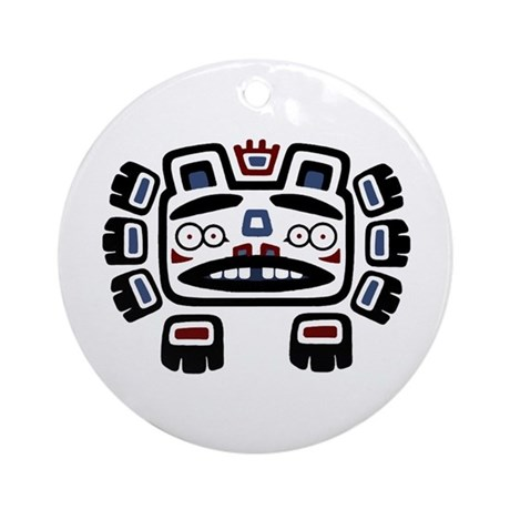 Bear Totem Ornament (Round)
