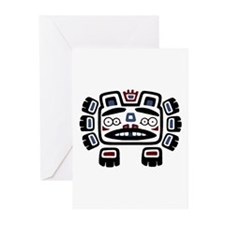 Bear Totem Greeting Cards (Pk of 20)