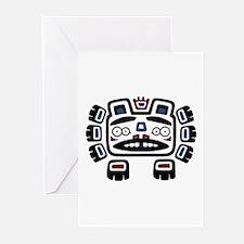 Bear Totem Greeting Cards (Pk of 20)