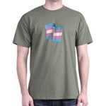 Flying Trans Pride Dark T-Shirt