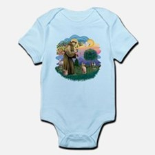 St Francis - Sphynx (fawn) Infant Bodysuit