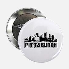"Pittsburgh Skyline 2.25"" Button"