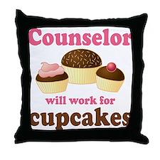 Funny Counselor Throw Pillow