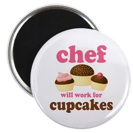 Funny Chef Magnet