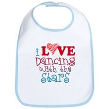 I Love Dancing wtih the Stars Bib