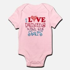 I Love Dancing wtih the Stars Infant Bodysuit