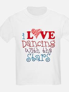 I Love Dancing wtih the Stars T-Shirt