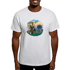 St Fran (ff) - Russian Blue (#2) T-Shirt
