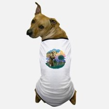 St Fran (ff) - Russian Blue (#2) Dog T-Shirt