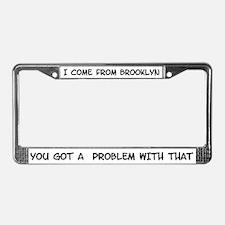Brooklyn License Plate Frame