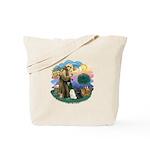 St Fran (ff) - 3 Persian Cats Tote Bag