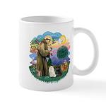 St Fran (ff) - 3 Persian Cats Mug