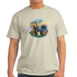 St Fran (ff) - 3 Persian Cats Light T-Shirt