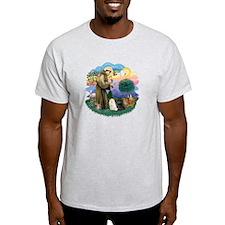 St Fran (ff) - 3 Persian Cats T-Shirt